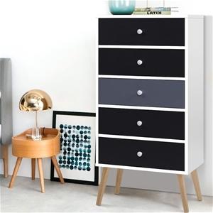 Artiss 5 Chest of Drawers Dresser Table