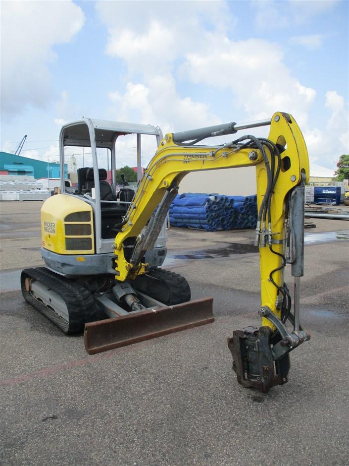 Wacker Neuson EZ28 Hydraulic Mini Excavator (Ex-Corp)