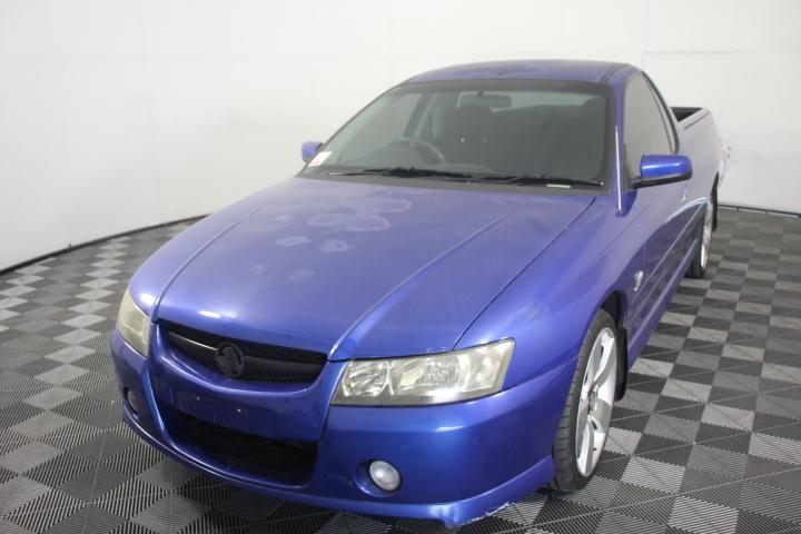 2004 Holden VZ Commodore Ute 6 Speed Manual (Impulse Blue)