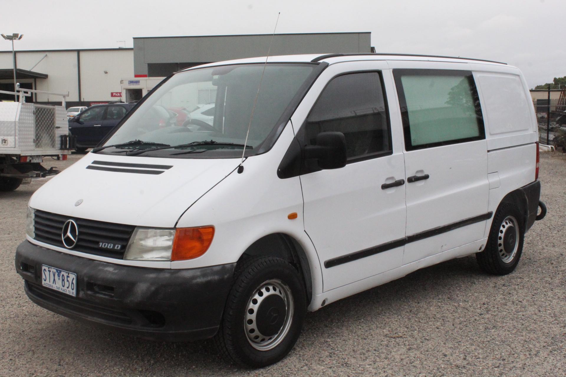 1999 Mercedes Benz Vito Manual Van