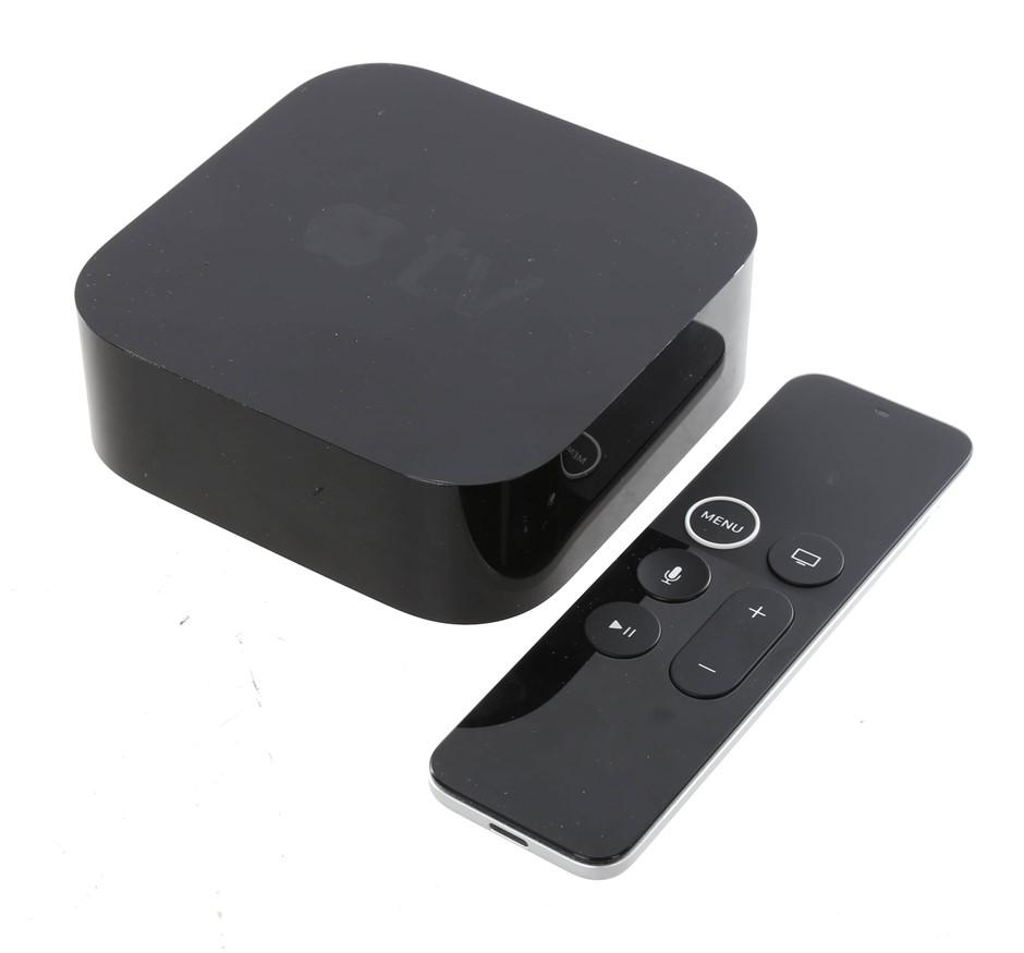 APPLE TV 4K External Device, Streams HD 4K TV, 64GB, Model A1842, Black. N.