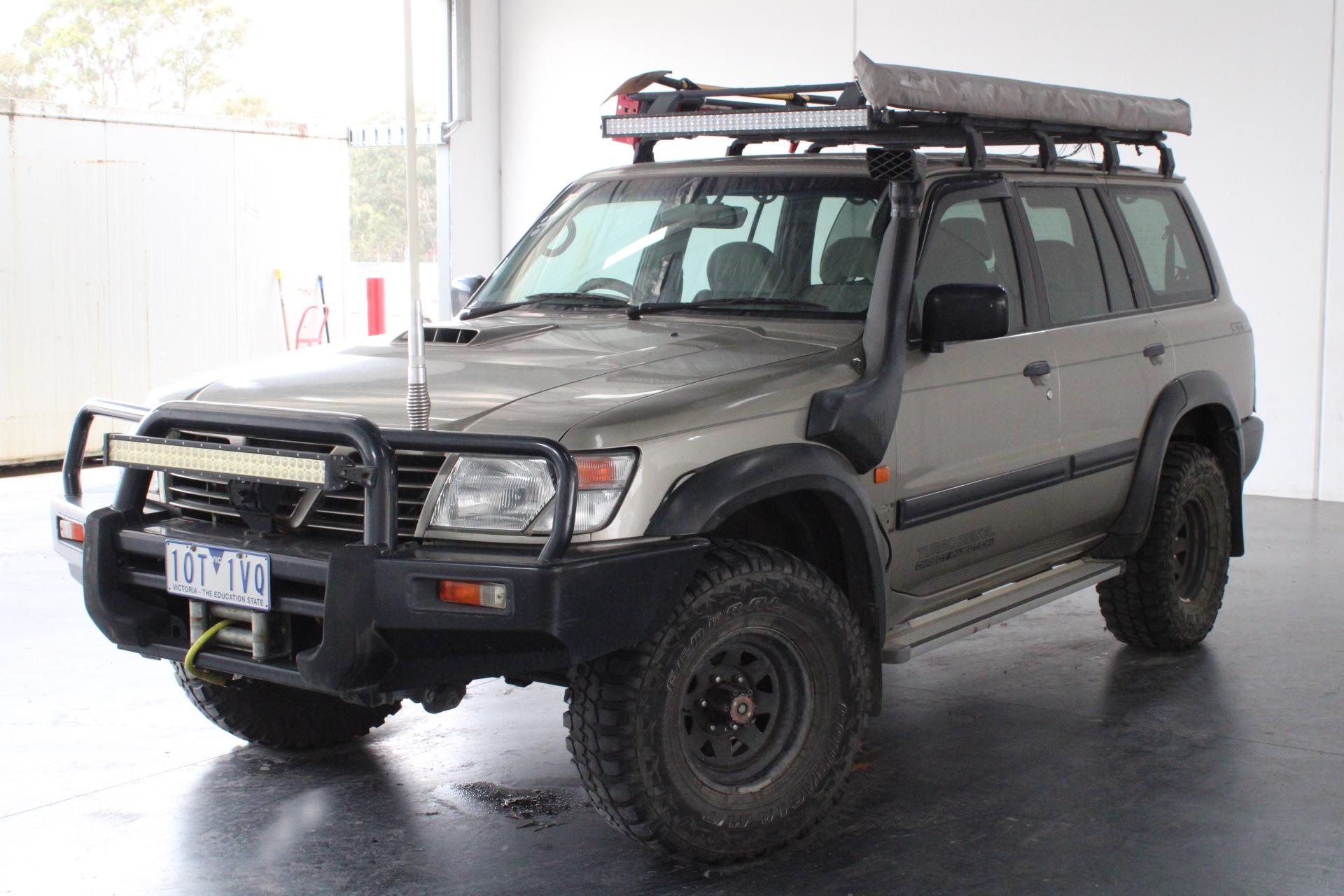 2000 Nissan Patrol ST (4x4) GU II Turbo Diesel Automatic 7 Seats Wagon