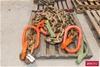 <B>3x Single Legs Lifting Chain</B> <li>32mm Chain</li> <li>Includes, Obl