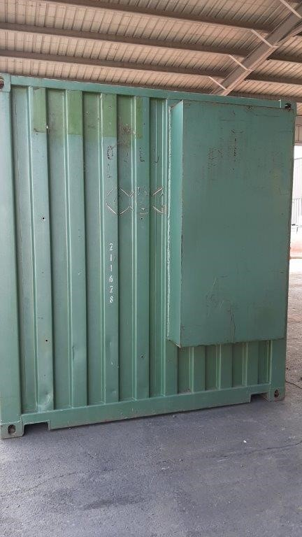 Container 6.3M x 2.4M Plumbers - WESTERN