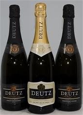 Deutz Mixed Sparkling Pack (3x 750mL), NZ. Cork closure.