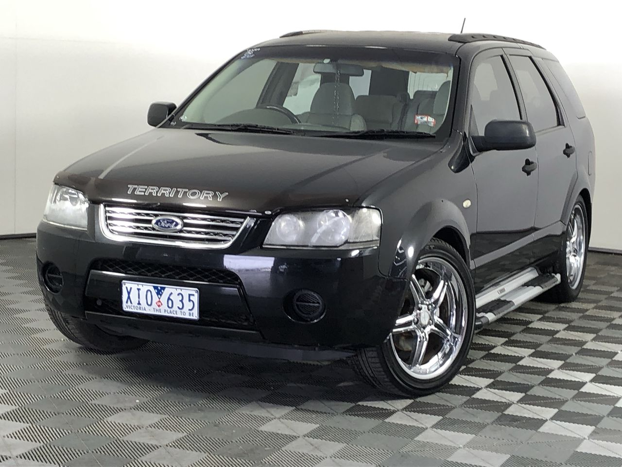 2004 Ford Territory TX (RWD) SX Automatic 7 Seats Wagon