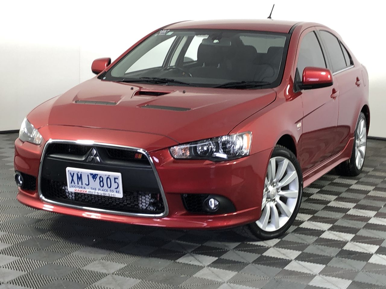 2009 Mitsubishi Lancer RALLIART SPORTBACK CJ Manual Hatchback