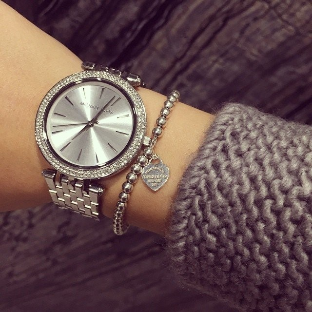 Stunning ladies new very classy Michael Kors NY Couture diamante watch.
