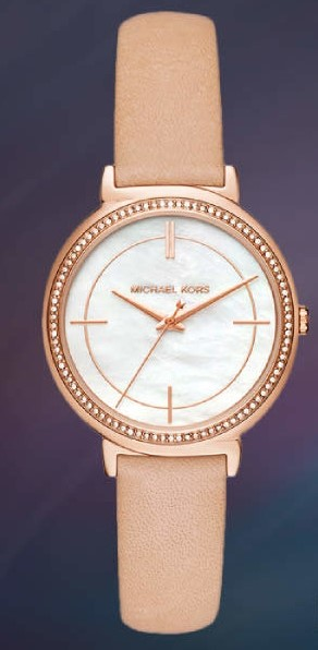Men's New Michael Kors 'Dylan' classy substantial watch,