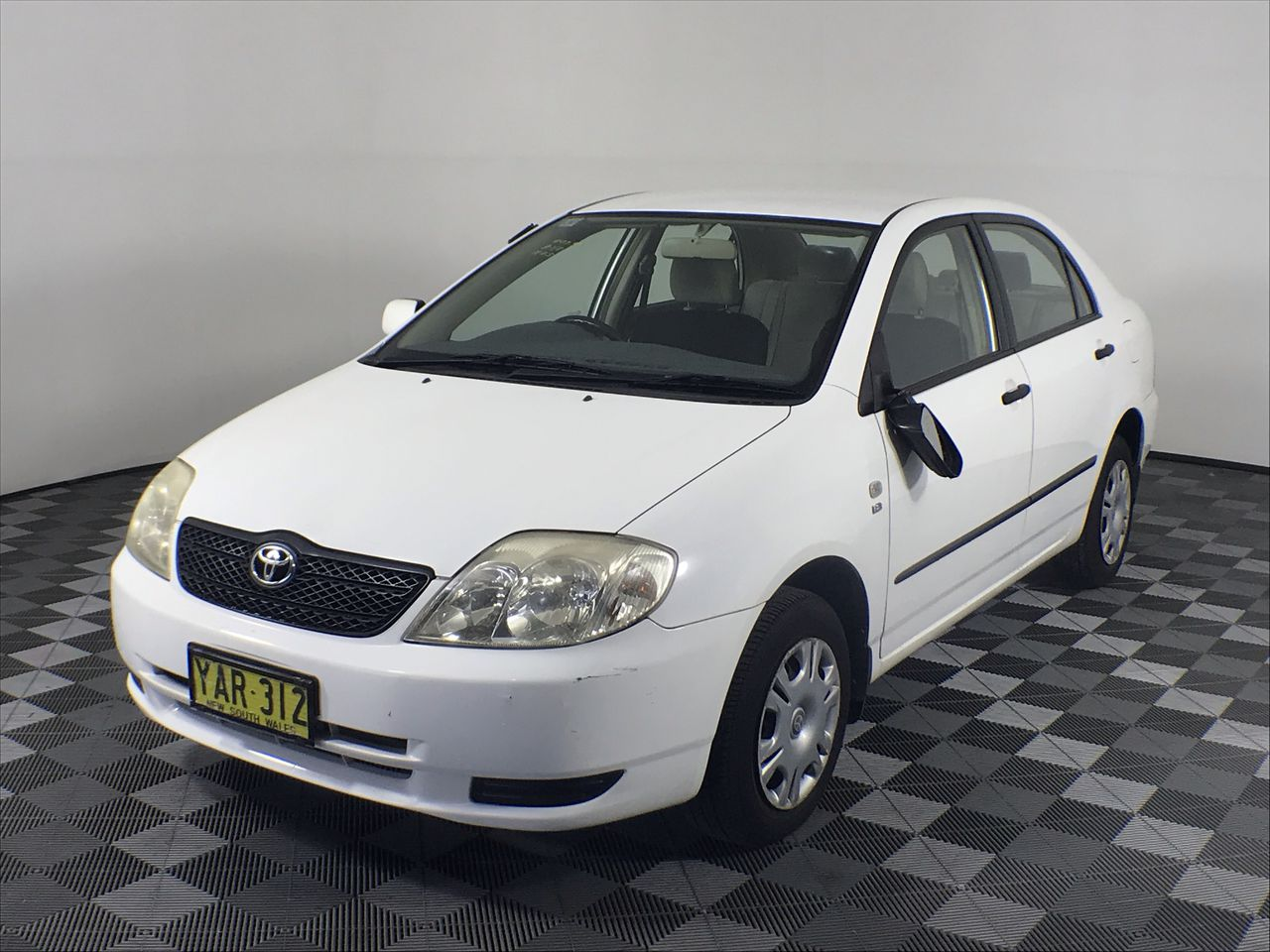 2002 Toyota Corolla Ascent ZZE123R Automatic Sedan