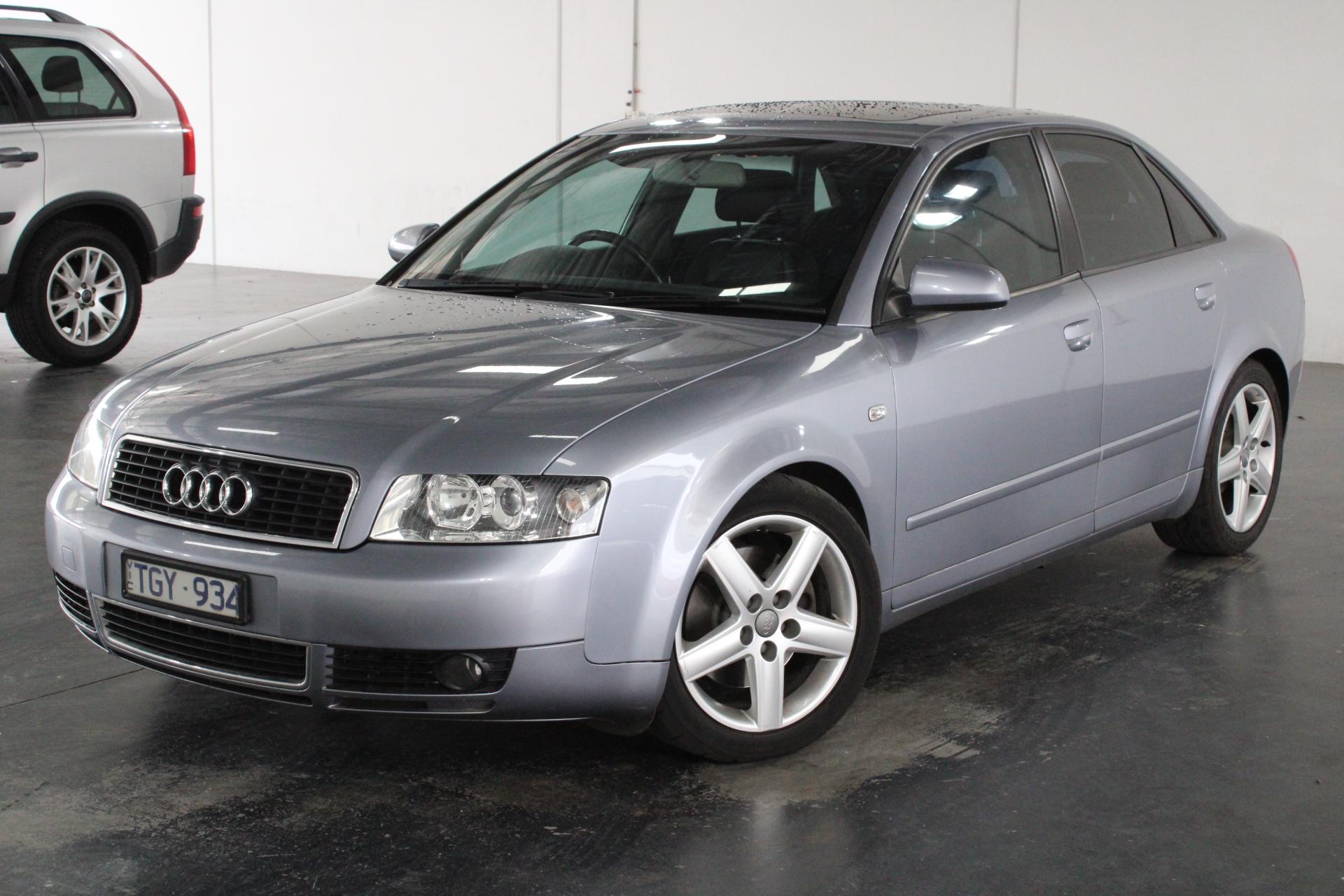 2004 Audi A4 1.8T B6 CVT Sedan