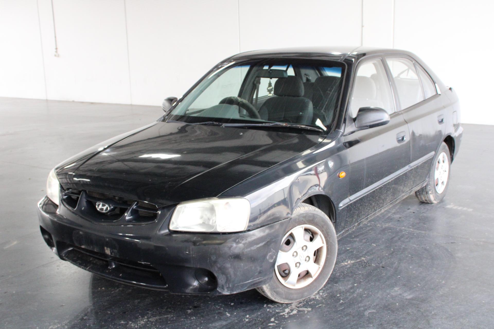 2002 Hyundai Accent GL LS Automatic Hatchback