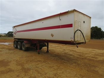 2013 Triad Triaxle ``B`` Section Tipping Trailer