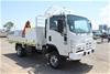 2012 Isuzu NPS300 T/Diesel 4 x 4 Crane Service Truck 71,572km (Ex Corp)