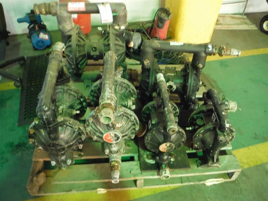 Pallet Quantity of Husky Diaphragm Pumps