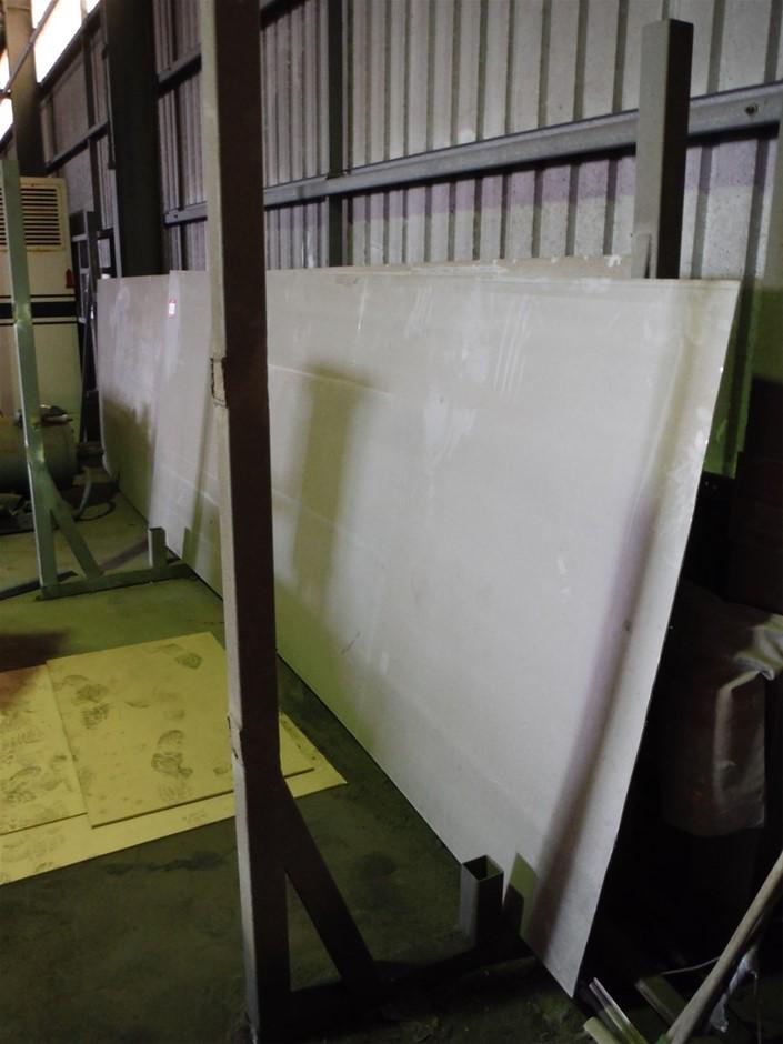 Quantity 2 x Aluminium Sheets