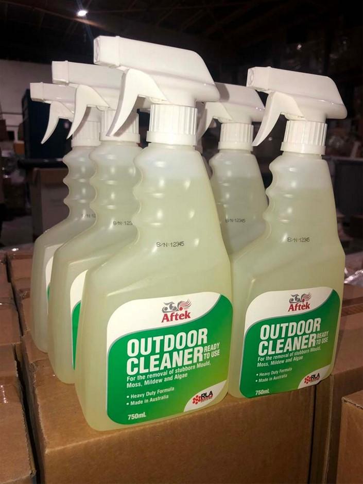 6 x 750ml Outdoor Cleaner, in spray pump bottles, Loc: 3306