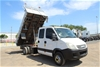 2007 Iveco Daily Auto T/Diesel Crane Dual Cab Tipper Truck