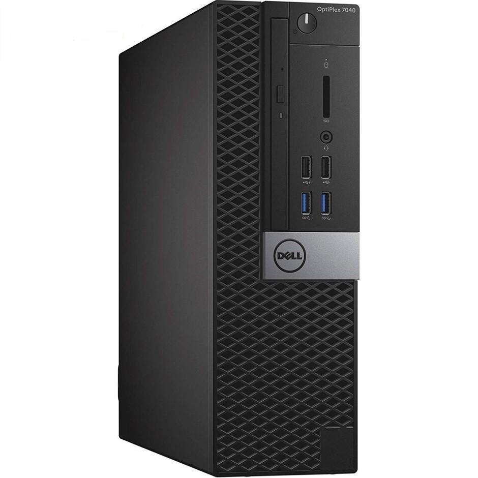 Dell OptiPlex 7040 Small Form Factor (SFF) Desktop PC, Black