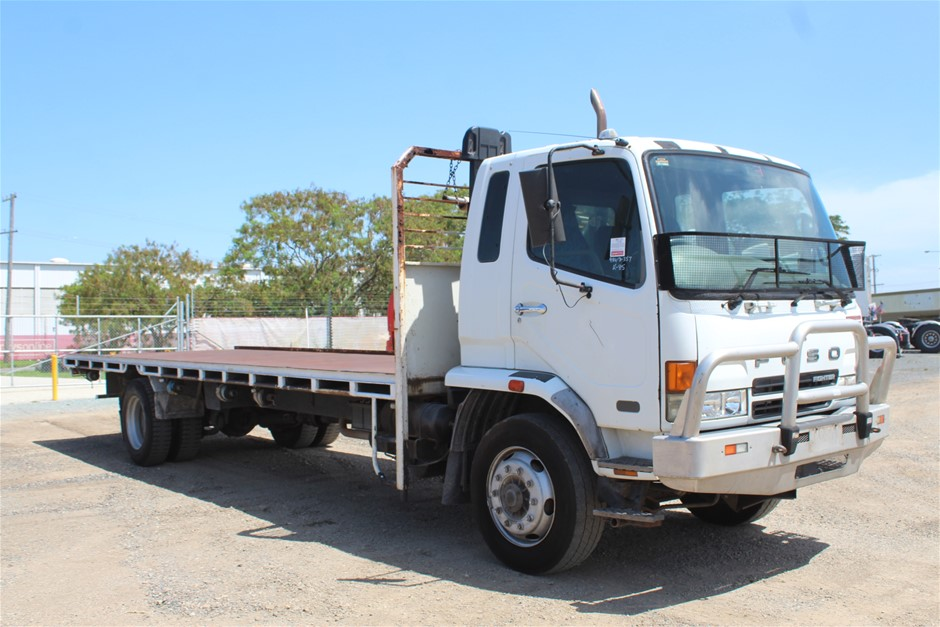 2006 Mitsubishi Fuso Turbo Diesel Tray Body Truck (Ex Corp)