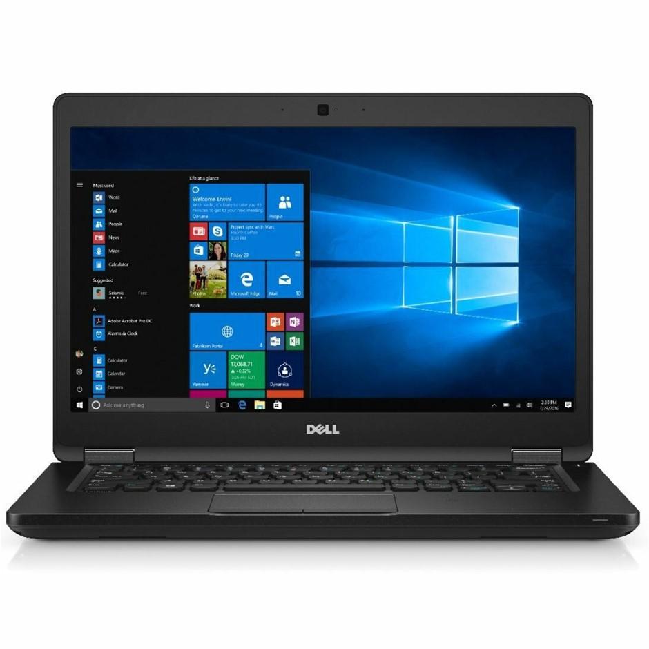 Dell Latitude 5480 14-inch Notebook, Black