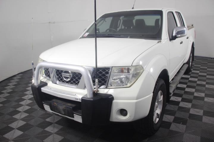 2007 MY08 Nissan Navara ST-X 4WD Turbo Diesel