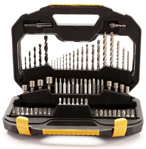 STANLEY FatMax 70pc Drill and Bit Set in