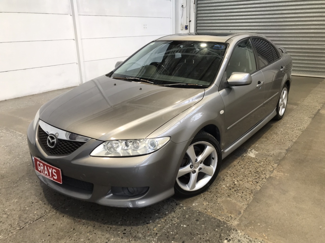 2002 Mazda 6 Luxury Sports GG Automatic Hatchback