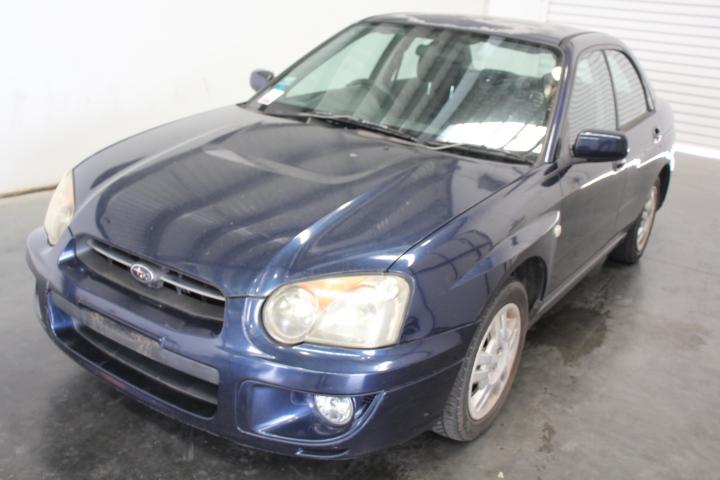 2004 Subaru Impreza GX (AWD) G2 Manual Sedan