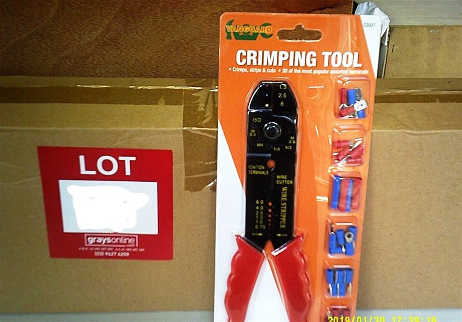 Box of 24 Vanguard Crimping Tool. New In Box