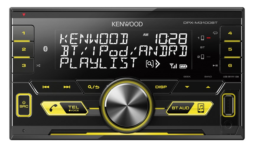 Kenwood DPX-M3100BT Digital Media Receiver with Built-in Bluetooth