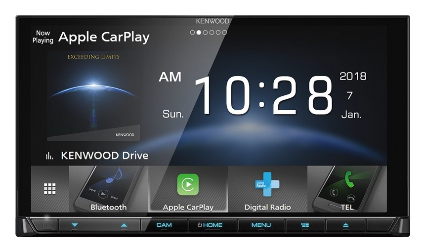 Kenwood DDX9018DABS 6.8 inch HD Capacitive Touch Screen AV Receiver