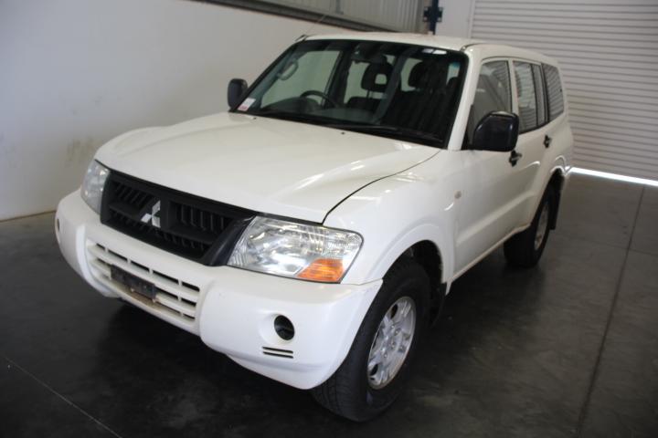 2006 Mitsubishi Pajero GLX (4x4) NP Turbo Diesel Automatic 7 Seat Wagon