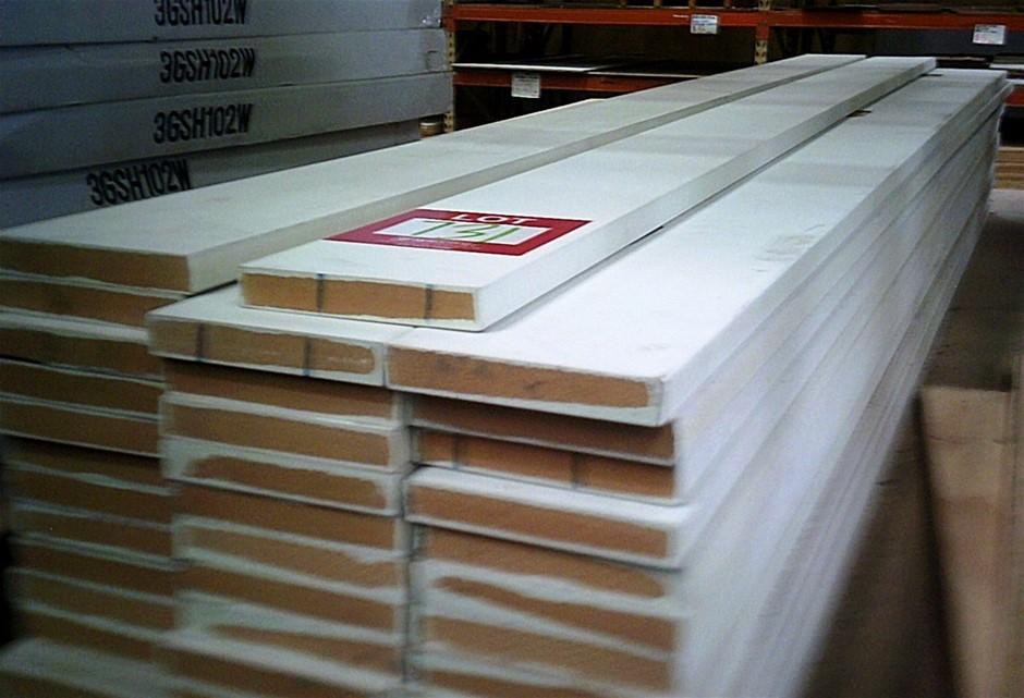 44 lengths of Primed MDF Door Jamb Material.