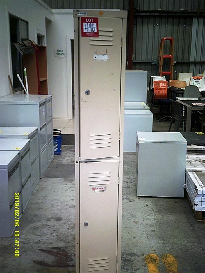 Steel 2 Door High Strength Locker with Key