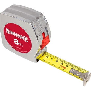 SIDCHROME 8M Measuring Tape 25mm Blade W
