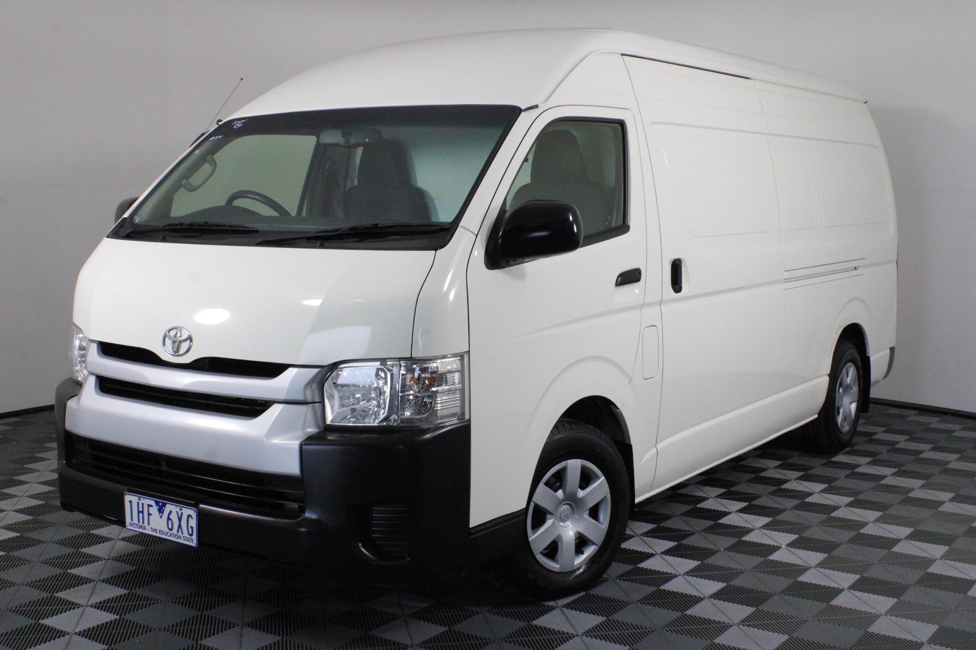 2015 Toyota Hiace SLWB Turbo Diesel Automatic Van (RWC issued: 20-1-20)