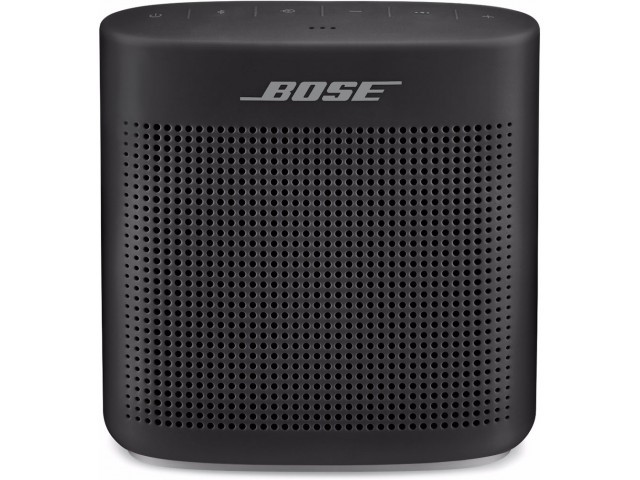 BOSE SoundLink Bluetooth Speaker II, Black. Complete with Charging Cable. N