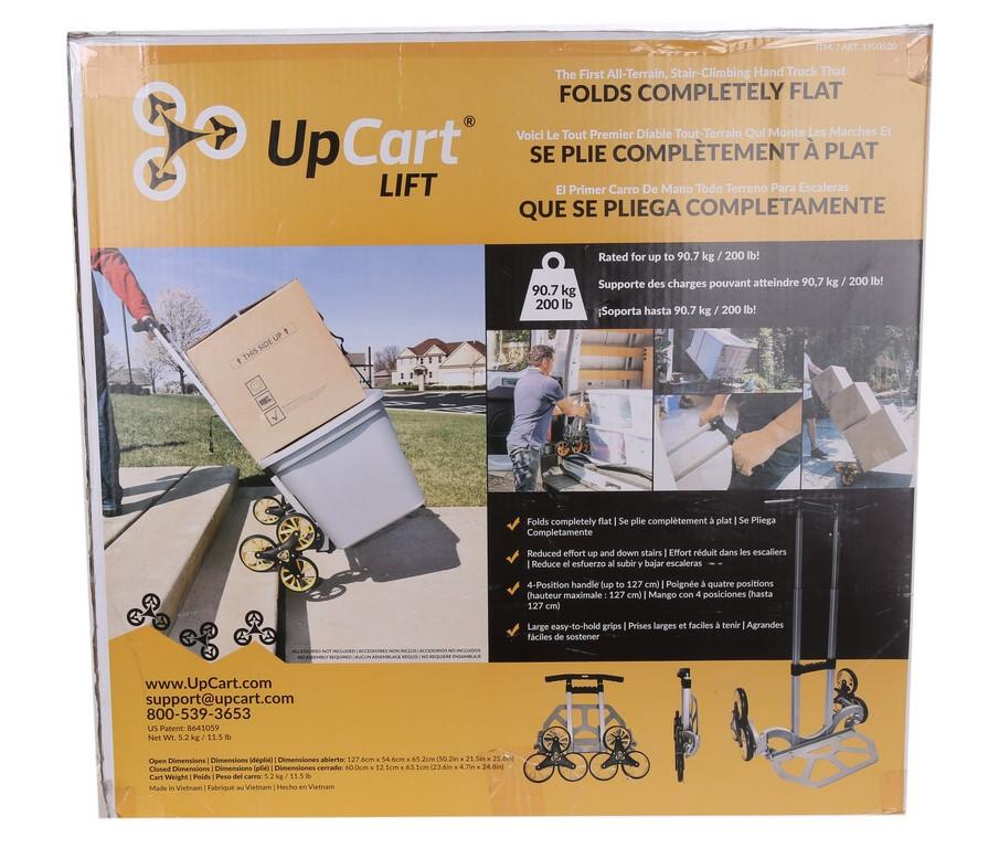 UPCART Stair Climbing Trolley Folding Light Weight Durable Hand Truck Cart,