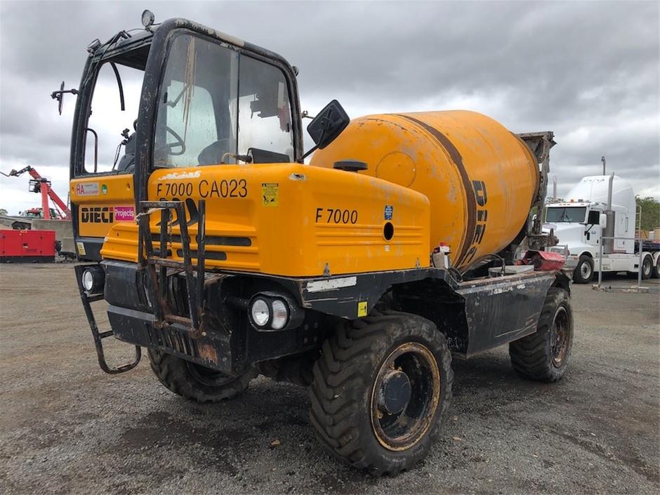 2017 Dieci Rough Terrain Mixer Truck
