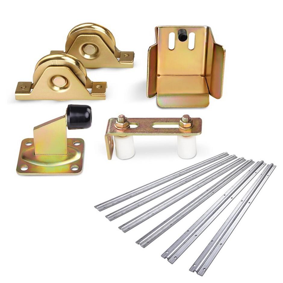 LockMaster Roller Guide Gate Opener Track Stopper Sliding Hardware Accs