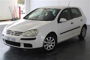 2007 Volkswagen Golf 1.6 Comfortline 1k