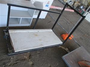 Steel Fabricated Trestle Table Trolley