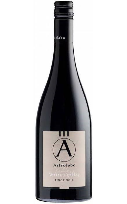 Astrolabe Pinot Noir 2017 (6 x 750mL), Wairau Valley, NZ.