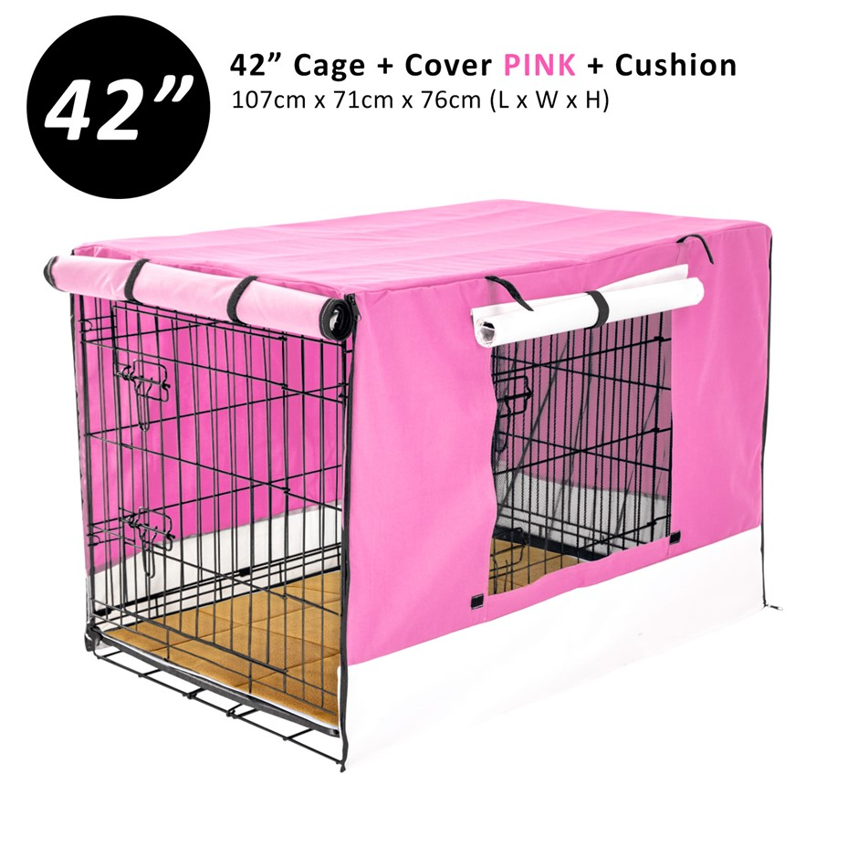 """42"""" Cage + Cover PK + Pad"""