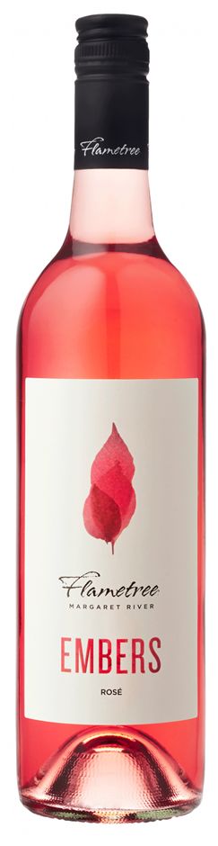 Flametree Embers Rose 2018 (12x 750mL). Margaret River, WA.