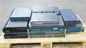 Pallet of Assorted Brand Networking Hard