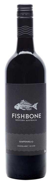 Fishbone Black Label Tempranillo 2018 (6 x 750mL) Margaret River, WA