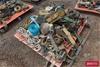Pallet of Assorted Ratchet Straps