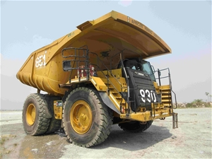 2010 Caterpillar 777F Rigid Dump Truck (